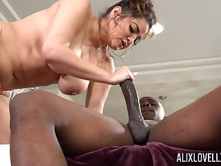 Animalistic dick on every side tight pussy of chubby white lady Alix Lovell