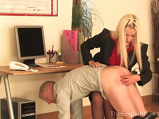 Whoop-de-doo Not at all bad Castigation Mistress Femdom Spanking