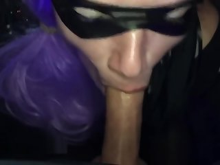 POV Blowjob at Halloween Corps