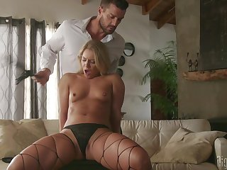 Naked Candice Dare feels remarkable when fucking so hard