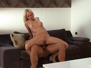 Milf takes a lot of dick wide her greedy holes