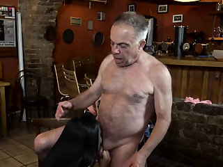 Old dad fucks fast xxx Anna and will not hear of suitor came to his