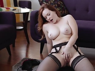 jerk off encouragement redhead big titties