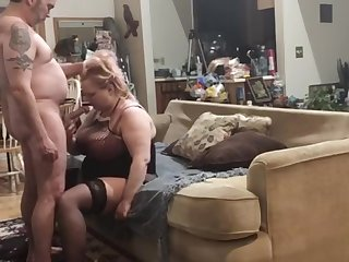 Abb� slams my pussy so approving I cum all over us during corona quarantine